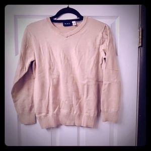 Boys Tan Vneck Childrens Place Sweater